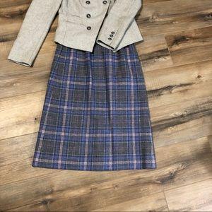 Pendleton Skirts - Vintage Pendleton Virgin Wool Mid Length Skirt